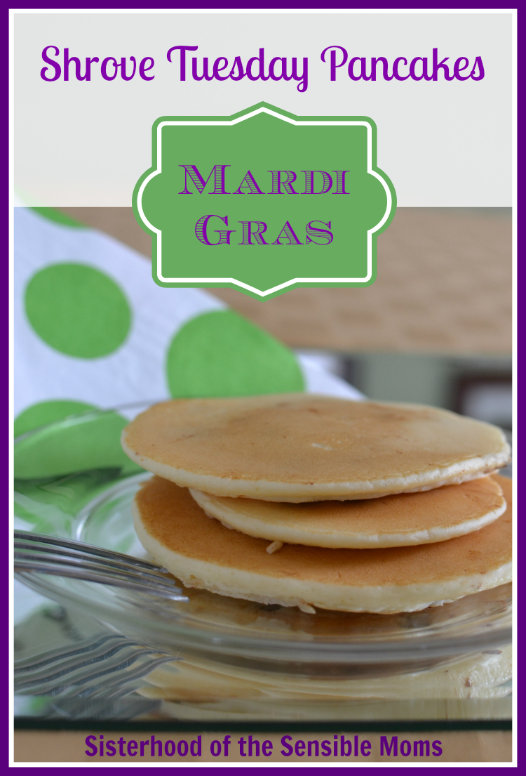 Mardi Gras is coming! Give Fat Tuesday what it wants. PANCAKES! Shrove Tuesday Pancakes Recipe.