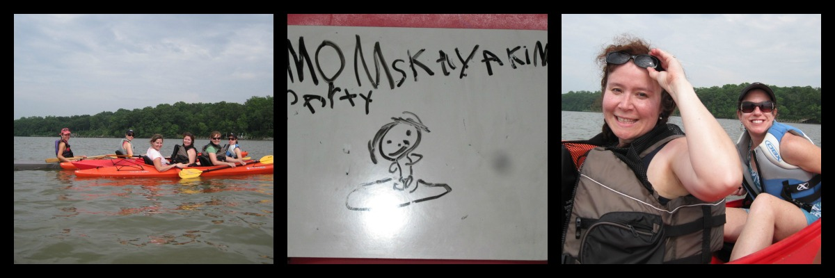 MomsKayakingparty