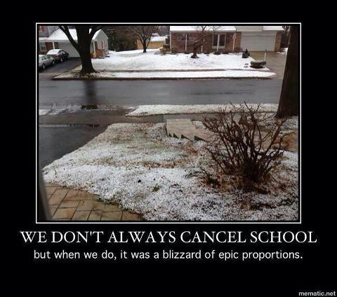 cancel school