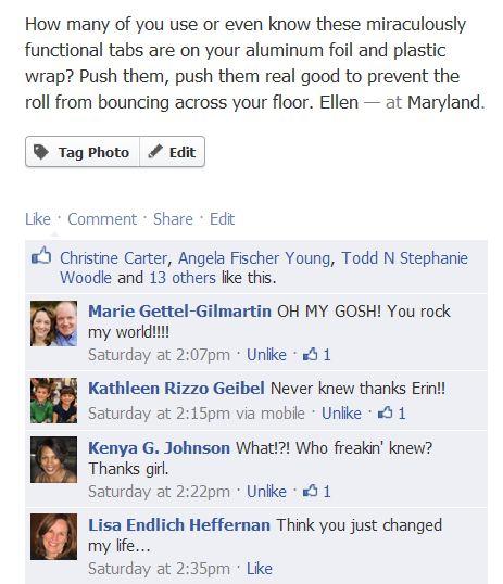 foil comments
