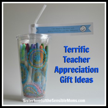 Terrific Teacher Appreciation Gift Ideas