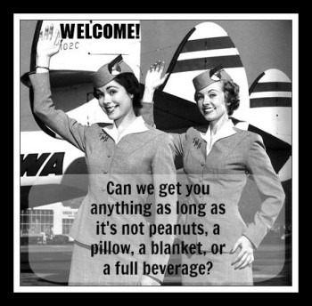stewardess-waving-welcome