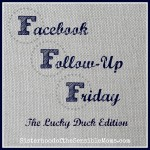 Facebook Follow-Up Friday #13