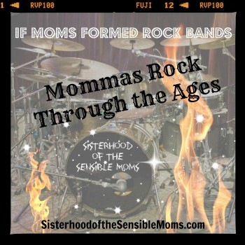 If Moms Formed Rock Bands
