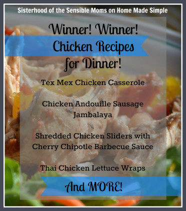 Wiiner Winner Chicken Recipes for Dinner!