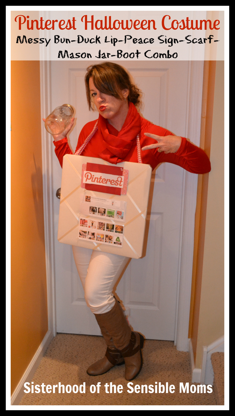 Creative DIY Halloween Costume Pinterest Board - Sisterhood of the Sensible Moms