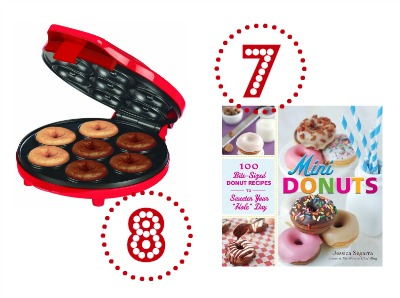 Mini Donut Maker and Cookbook