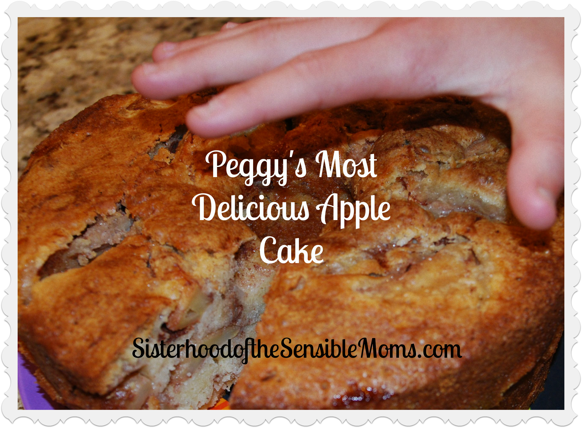 Peggy's Most Delicious Apple Cake - This recipe will become a family ...