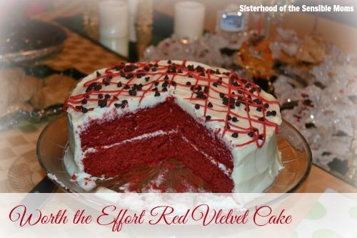 Worth the Effort Red Velvet Cake