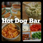 Hit it Out of the Ballpark With this Hot Dog Bar