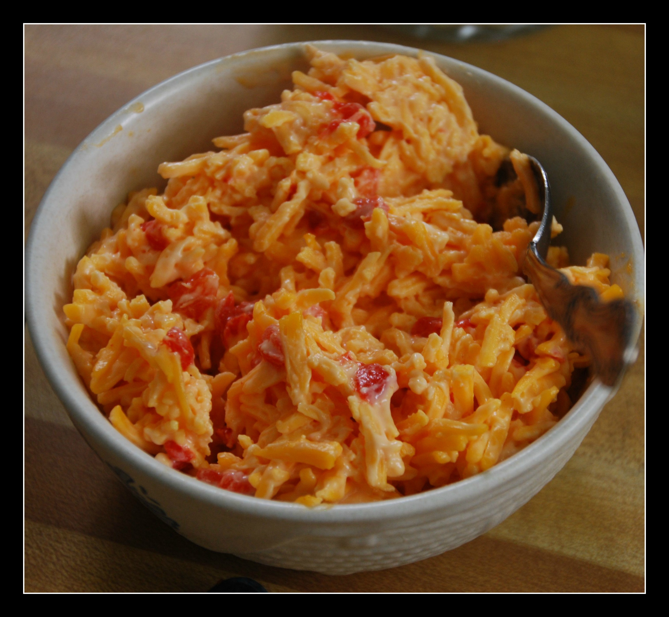 Pimiento Cheese Hot Dog Topping