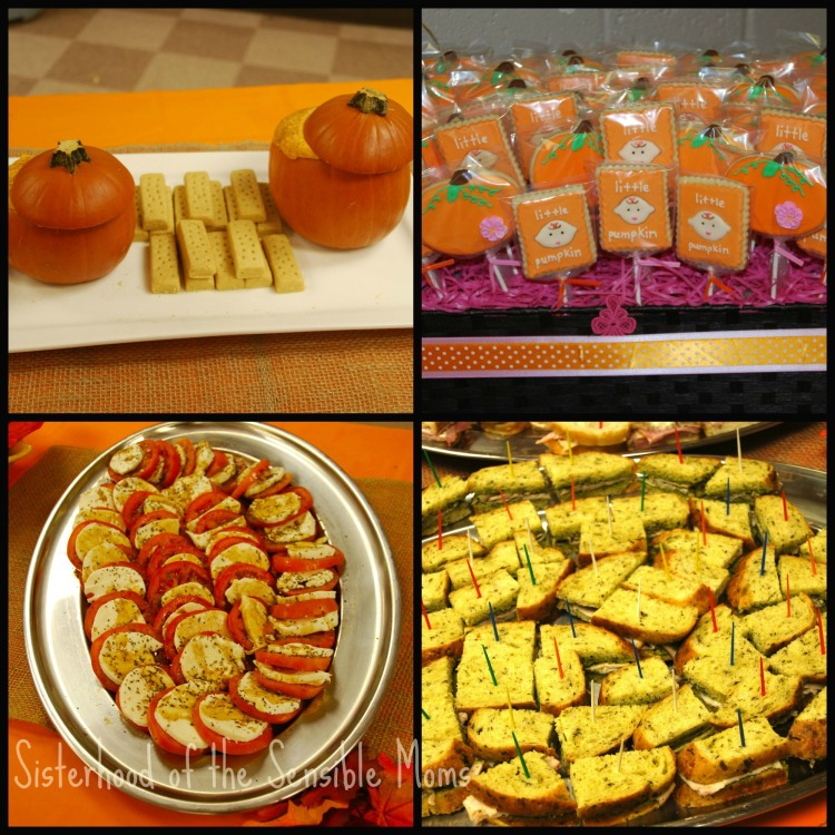 Marvelous Food For Fall Baby Shower Collage