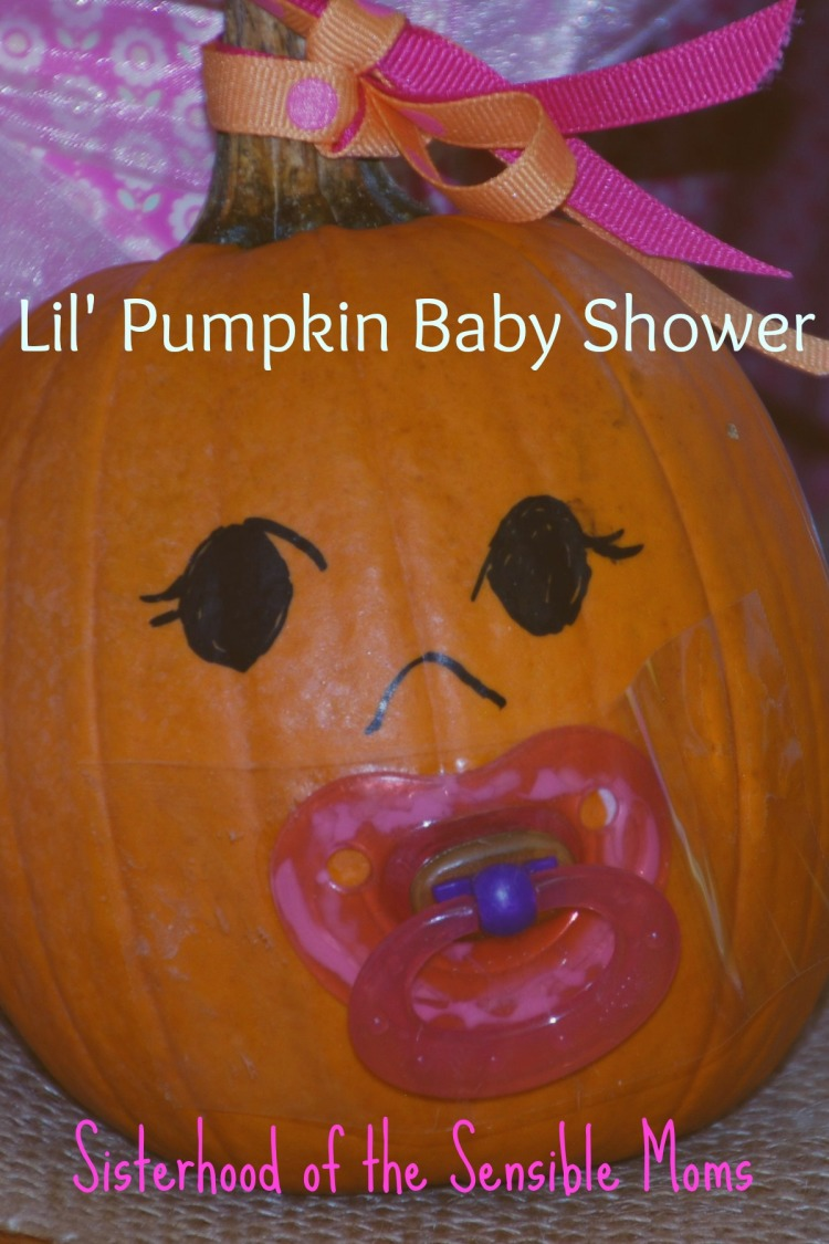Fall Baby Shower Ideas---Sisterhood of the Sensible Moms
