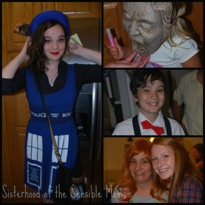 Doctor Who party ideas---Sisterhood of the Sensible Moms