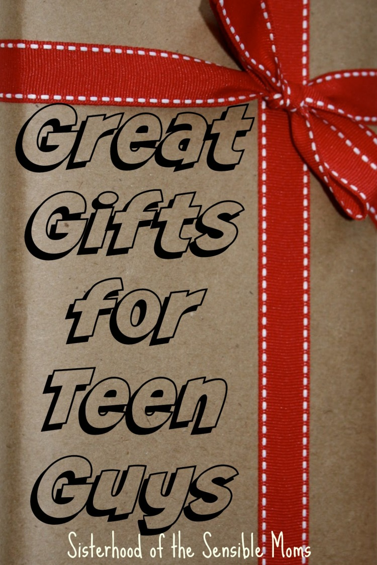 Great Gifts for Teen Guys--Sisterhood of the Sensible Moms