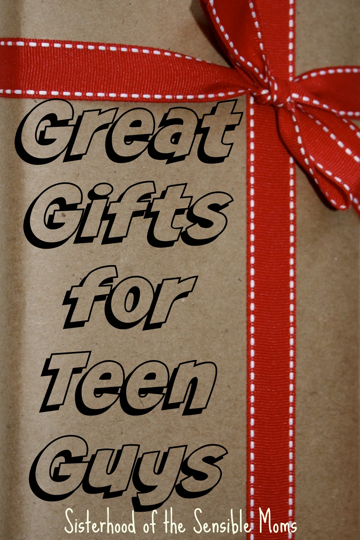 Great Gifts for Teen Guys - Sisterhood of the Sensible Moms ...