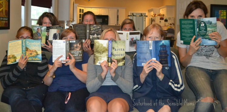 Looking for a good book? Here are 9 great reads.---Sisterhood of the Sensible Moms