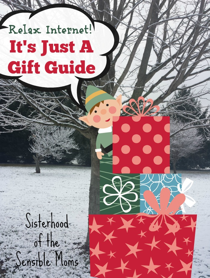 Relax Internet, it's just a gift guide: A forum group found our teen guy and girl gift guides and took us to task for separating the genders and for the things we recommended. What do you think? - Sisterhood of the Sensible Moms