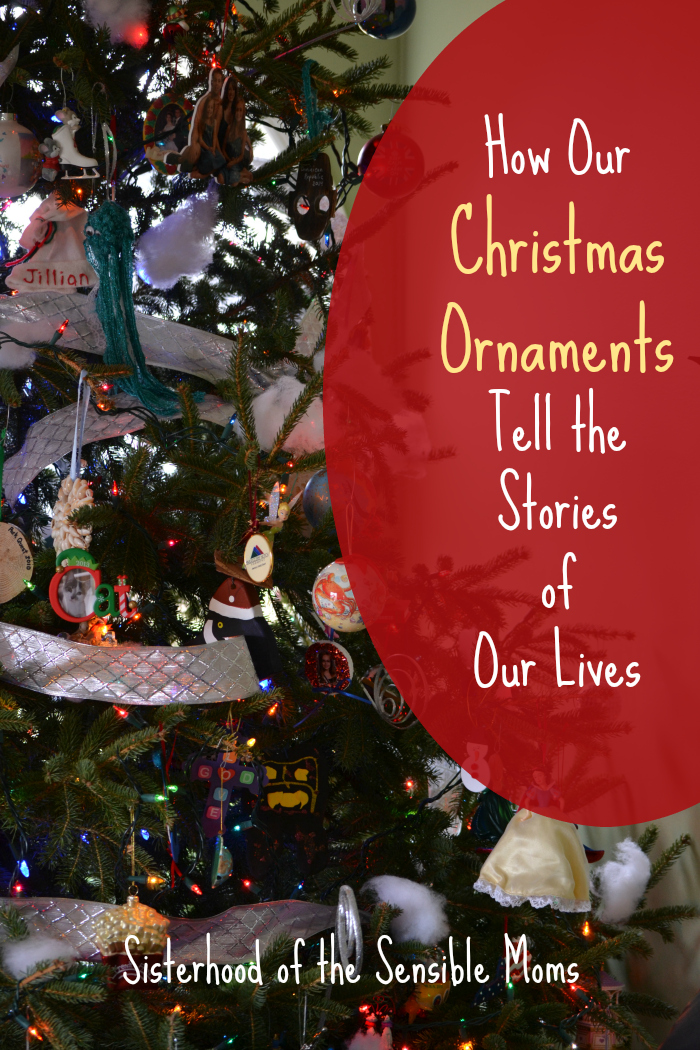How Our Christmas Ornaments Tell the Stories of Our Lives - Some Christmas trees are perfectly beautiful, and some tell a perfectly wonderful story. - Sisterhood of the Sensible Moms