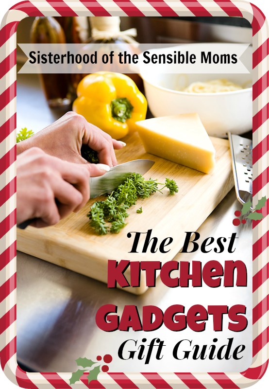 The Best Kitchen Gadgets Gift Guide: Any of these presents will make you more beloved than Santa. Get out the smelling salts because they're gonna swoon! |Sisterhood of the Sensible Moms|