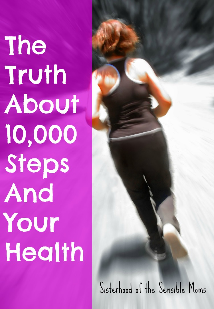 The Truth About 10000 Steps and Your Health| One woman's story of success walking the road to fitness.| Read for more diet and fitness tips. | Sisterhood of the Sensible Moms