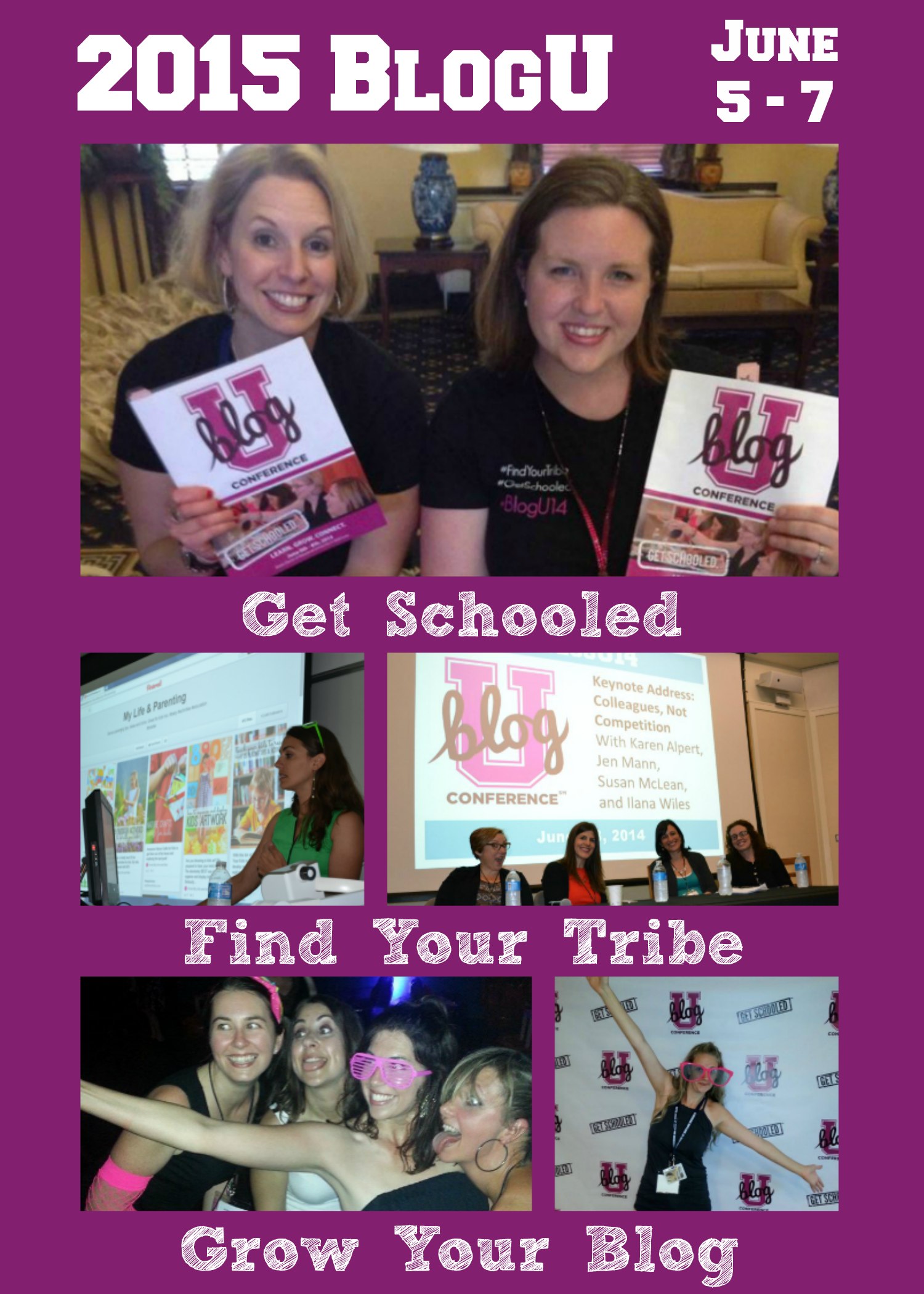The 2015 BlogU Conference is the best value in the business! With one economical ticket you get the tools to elevate your blogging and writing career aspirations to reality. Get schooled. Find your tribe. Grow your blog. Register today and prepare to be inspired! June 5 -7, Baltimore, MD. | BlogU15