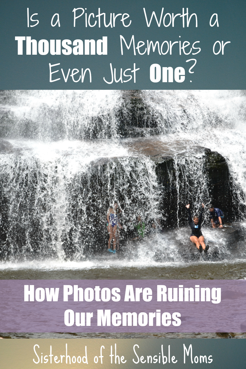 How Photos Ruin Our Memories | Is a Picture Worth a Thousand Memories or Even Just One? | Sensible Moms Soundbites | Parenting Advice
