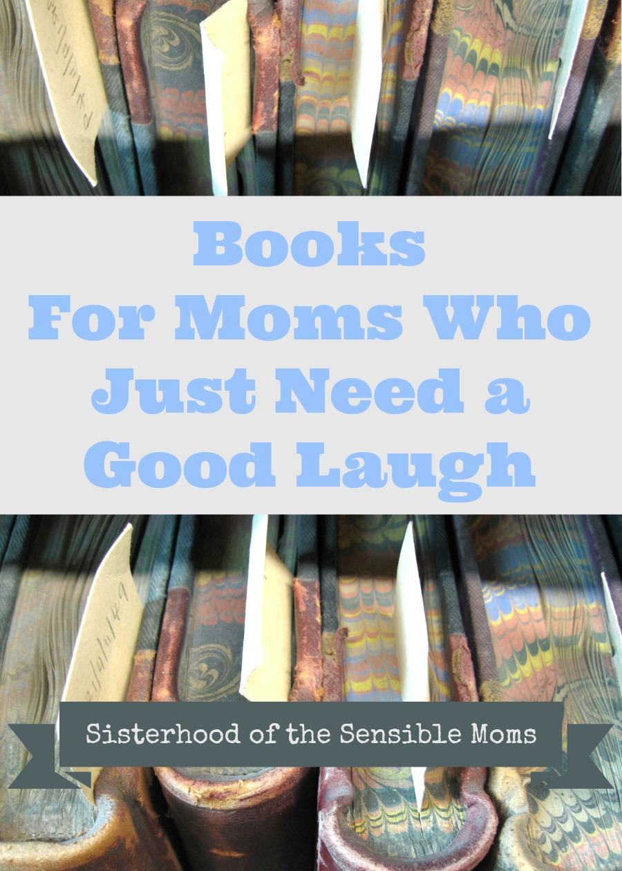 Books for Moms Who Just Need a Good Laugh | Sisterhood of the Sensible Moms