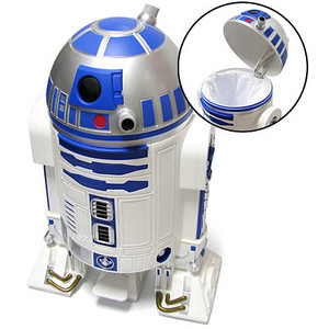 Father's Day Gift Idea: Star Wars R2D2 Trashcan--Sisterhood of the Sensible Moms