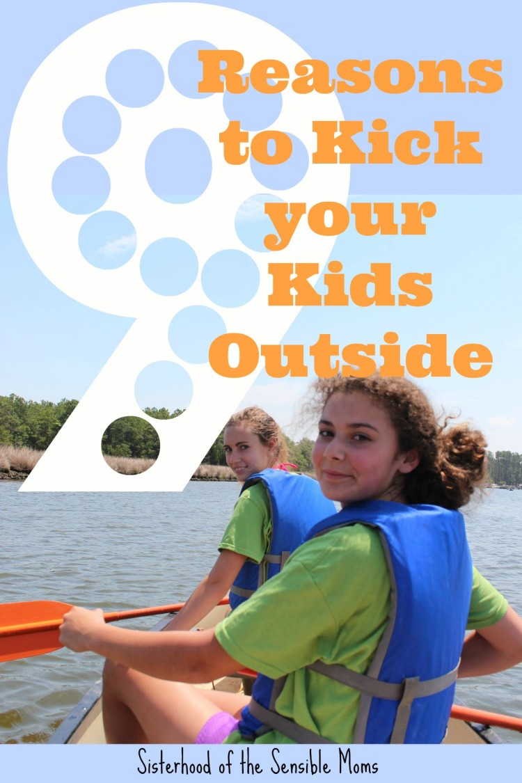 Want better parenting? Take your kids outside. Sisterhood of the Sensible Moms