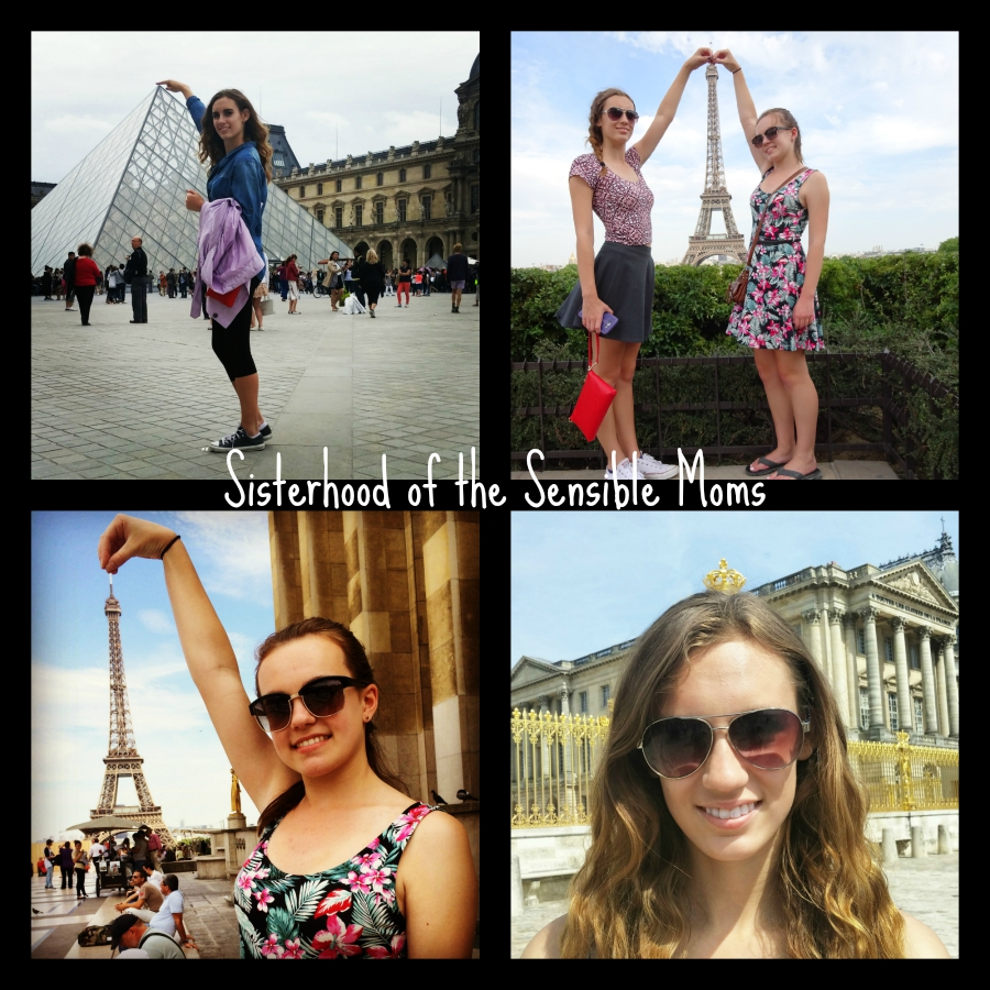 Classic Paris Tourist  Photography Shots | Perspective Travel Photography Tricks | Sisterhood of the Sensible Moms