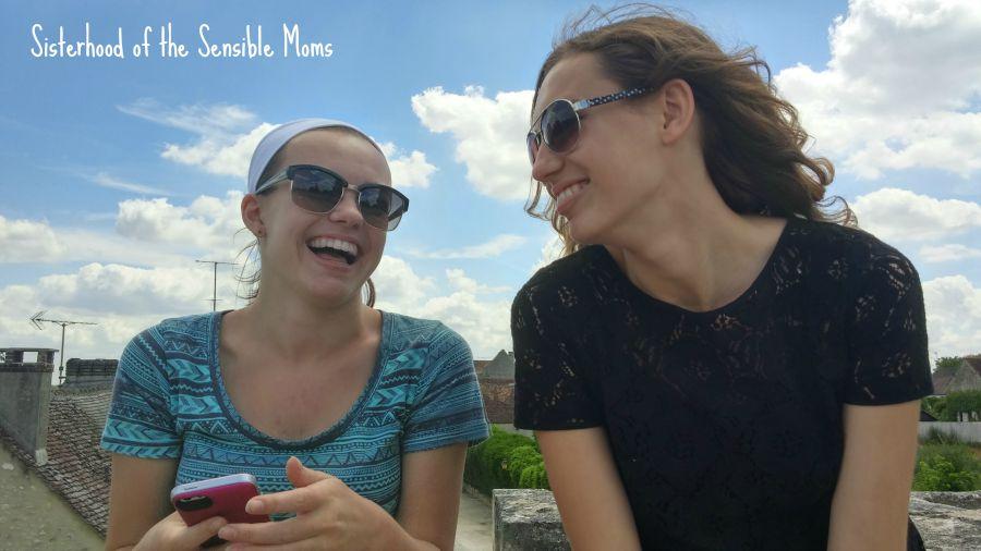 Smiling in Provins