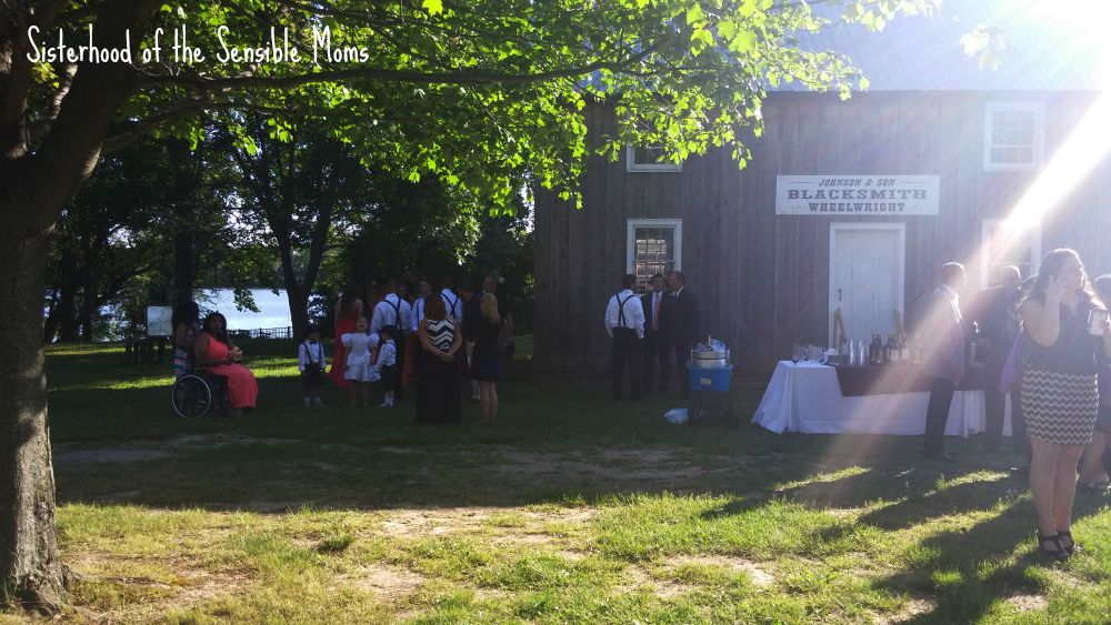 Blacksmith Shop Delaware Agricultural Museum | I Attended a Pinterest Wedding! They're real! | Look no further for wedding day inspiration! | Sisterhood of the Sensible Moms