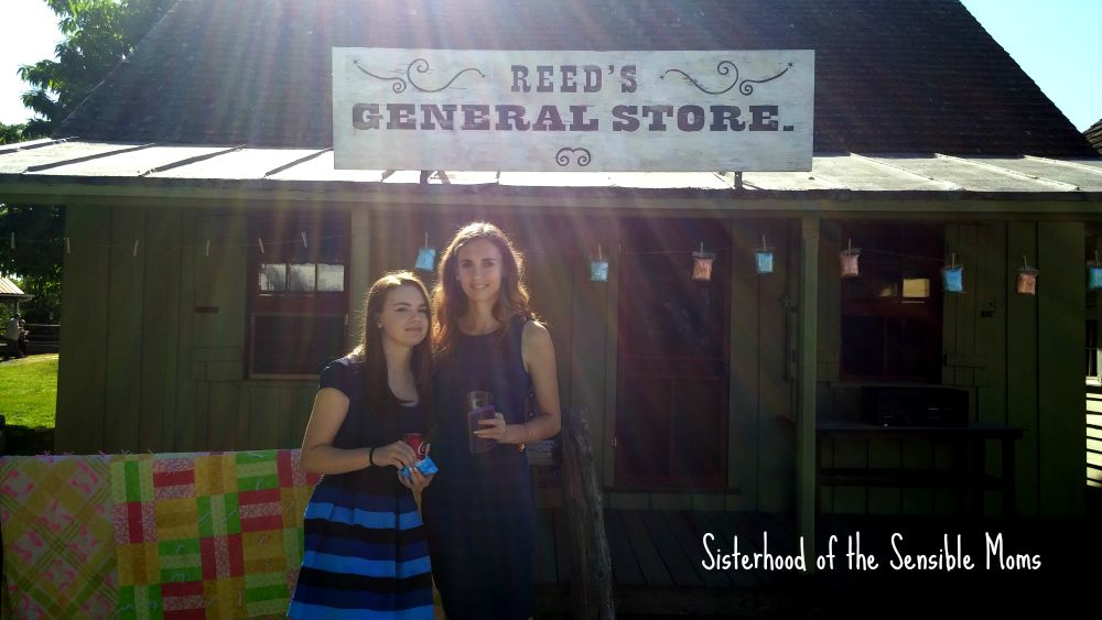 General Store Delaware Agricultural Museum | I Attended a Pinterest Wedding! They're real! | Look no further for wedding day inspiration! | Sisterhood of the Sensible Moms