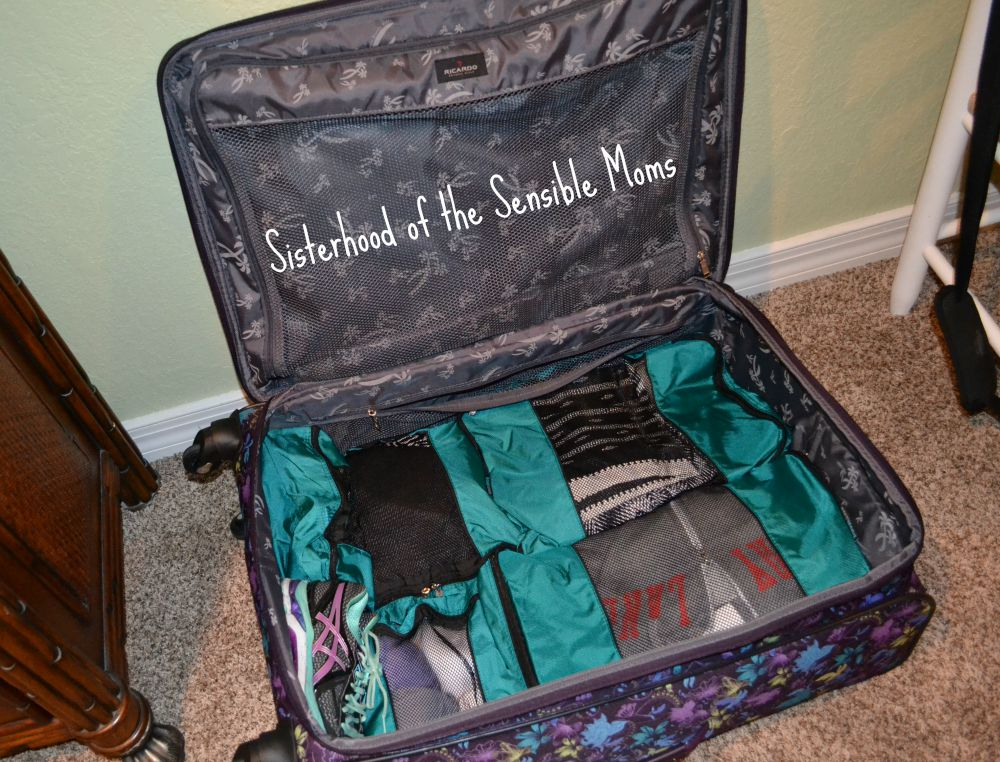 The Best Packing Tip You Never Knew You Needed! Organized travel can be yours with this simple trick. Sisterhood of the Sensible Moms