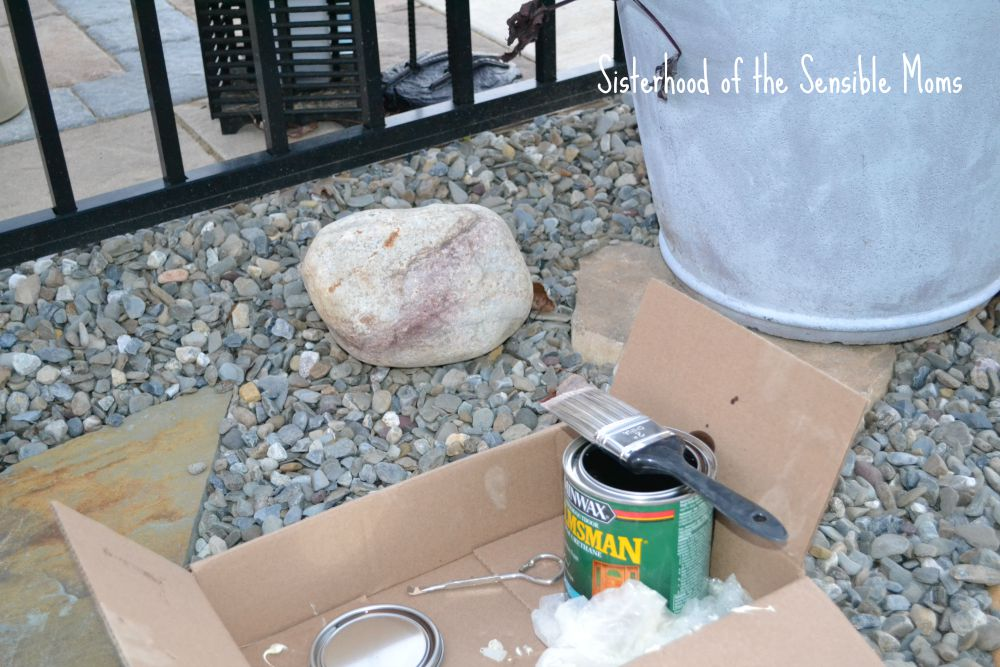 Fast and Easy! How to Make Your Landscape Pop With Rocks | DIY Garden Design Principles | Sisterhood of the Sensible Moms