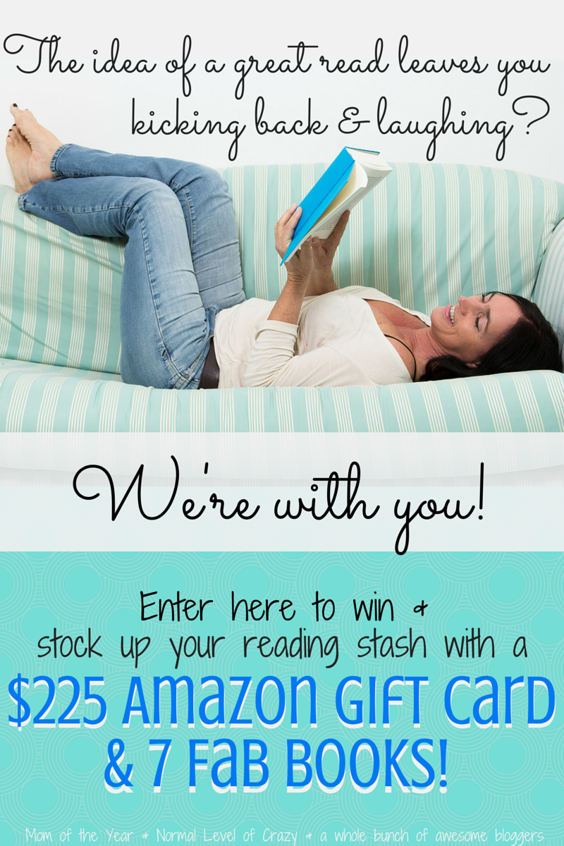 Last Blast of Summer Book List and Giveaway!! Grab some reading inspiration and suggestions plus a chance to win a $225 gift card and 7 books in our giveaway!