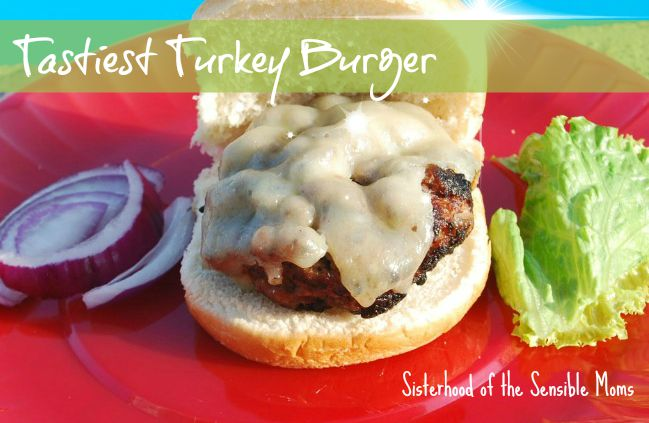 Tastiest Turkey Burger Recipe