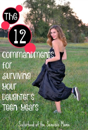 Surviving the Teen Years Sisterhood of the Sensible Moms