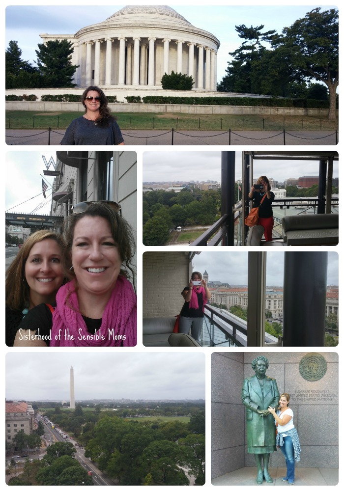 Sisterhood of the Sensible Moms visits Washington DC for the Stop Medicine Abuse Forum.