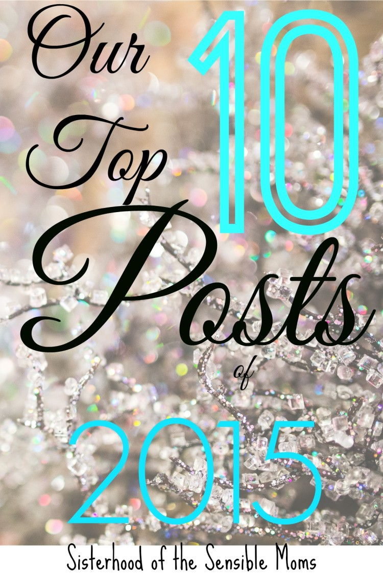 Looking for a great break from holiday stress? Check out our top parenting, fitness, and humor posts of the year | Sisterhood of the Sensible Moms