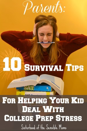 10 Survival Tips for College Prep Stress