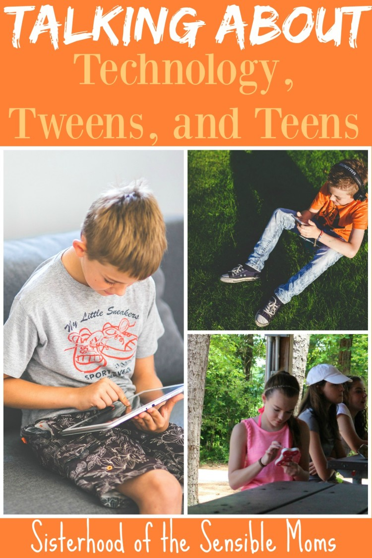 Need parenting tips for talking to your tweens or teens about technology? Get advice about kids and digital citizenship | Sisterhood of the Sensible Moms