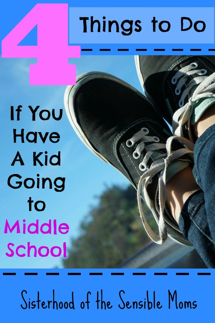 Got a tween heading to middle school this fall? Here are some subtle changes in your parenting that will help you and your child get ready for this transition | Sisterhood of the Sensible Moms