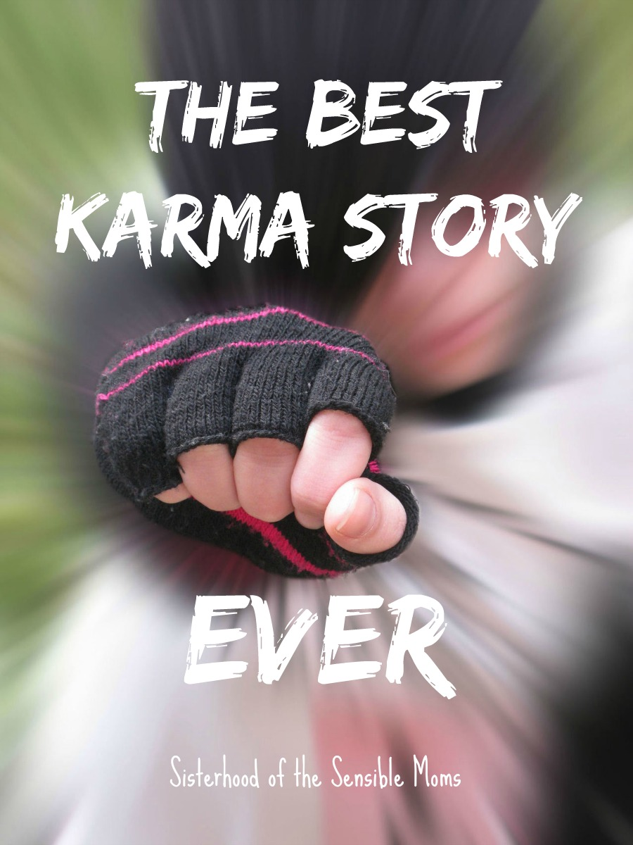 The Best Karma Story Ever: Ever been tortured by a Mean Girl? Ever wish she got what was coming to her? Live vicariously through this deliciously satisfying BEST KARMA STORY EVER. | Sisterhood of the Sensible Moms
