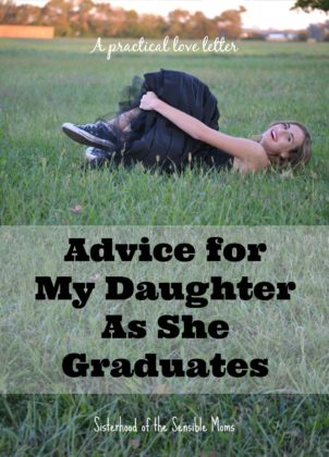 Advice for my daughter as she graduates