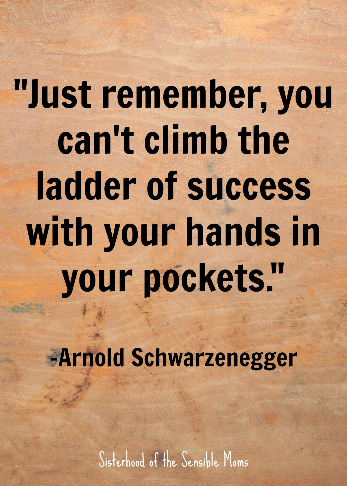 """Just remember, you can't climb the ladder of success with your hands in your pockets."" Nothing centers a speech, or even a graduation card sentiment, like a good quote, but enough with the ""reach for the stars"" and the ""follow your dreams."" Check out these inspirational quotes for graduates that aren't cheesy. 