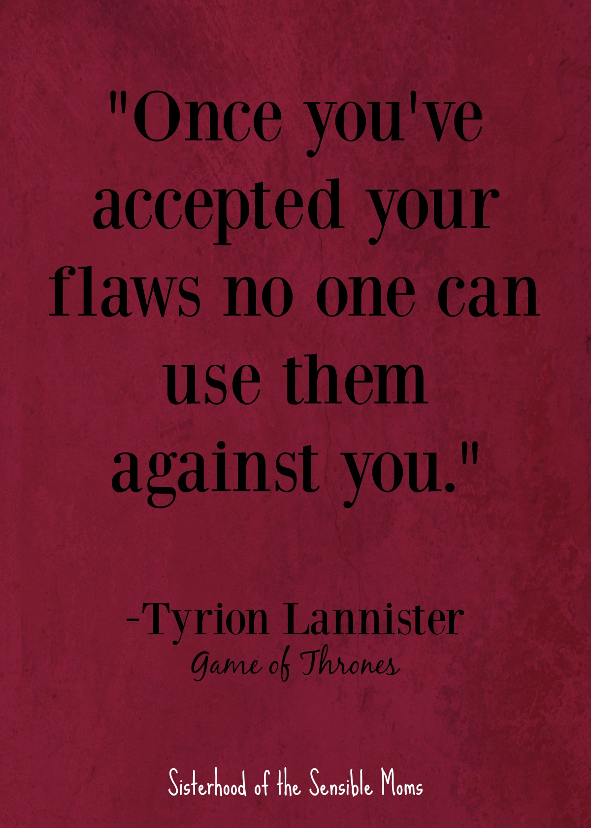 """Once you've accepted your flaws no one can use them against you."" Nothing centers a speech, or even a graduation card sentiment, like a good quote, but enough with the ""reach for the stars"" and the ""follow your dreams."" Check out these inspirational quotes for graduates that aren't cheesy. 