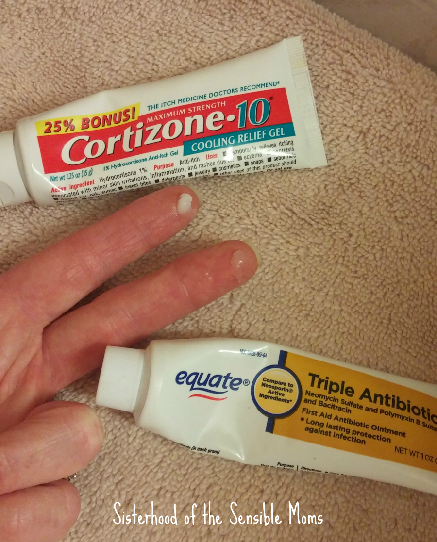 Cortisone and Antibiotic
