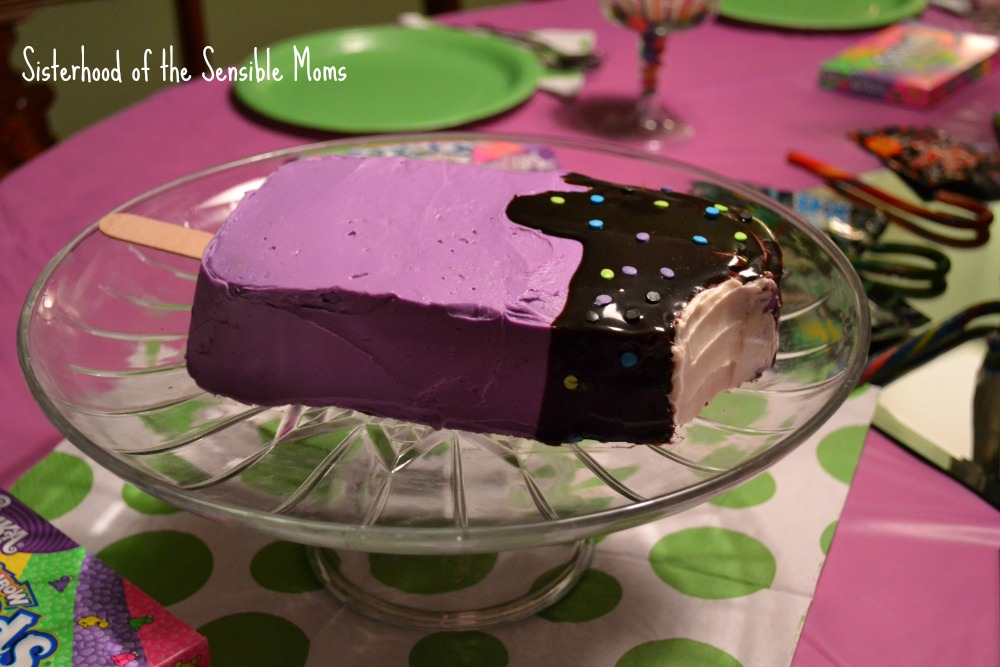 Ice Cream Popsicle Cake: The Unexpected Pitfall of Over-The-Top Kids' Birthday Parties | Sisterhood of the Sensible Moms